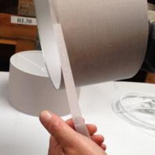 Machine binding tape