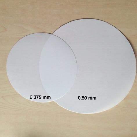 Polycarbonate Lexan opal, milky